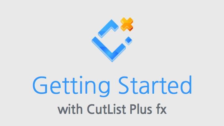CutList Plus Cutting Diagram Software: Sheet Layout
